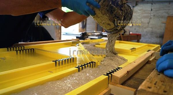 عملکرد بتن تقویت شده با الیاف شیشه در طول زمان